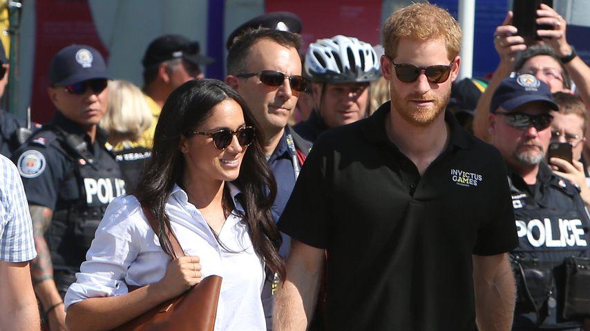 Meghan Markle und Prinz Harry in Toronto