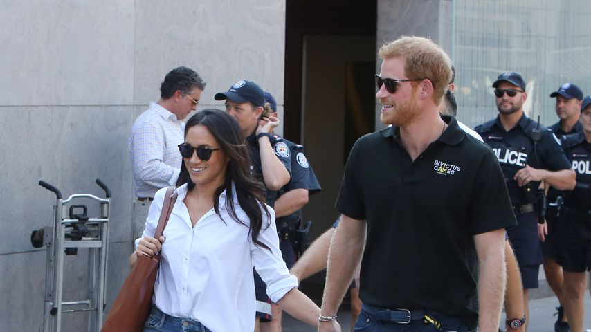 Meghan Markle und Prinz Harry bei den Invictus Games in Toronto 2017