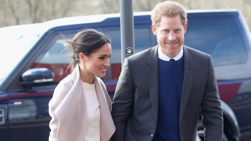 Meghan Markle und Prinz Harry in Lisburn, Nordirland