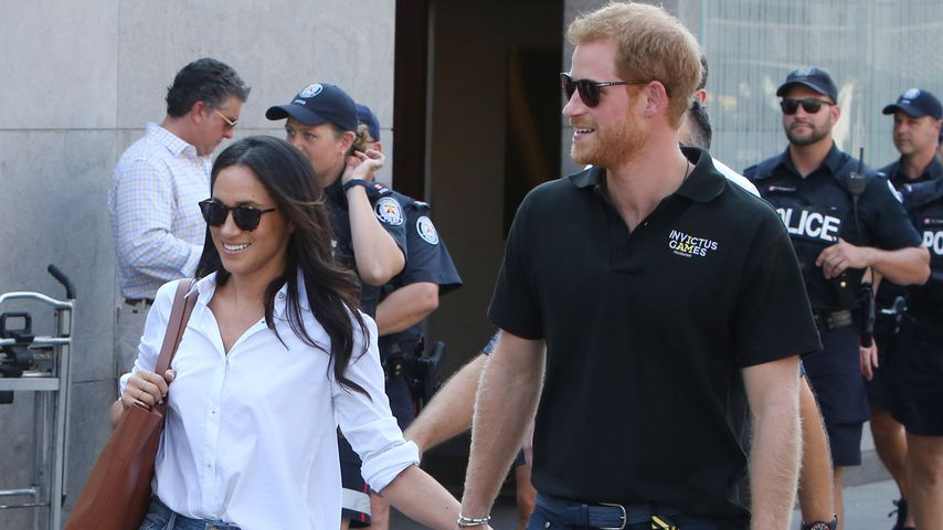 Meghan Markle und Prinz Harry in Toronto