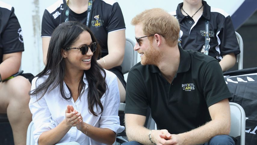 Prinz Harrys Liebste: Jetzt braucht Meghan viel Security!