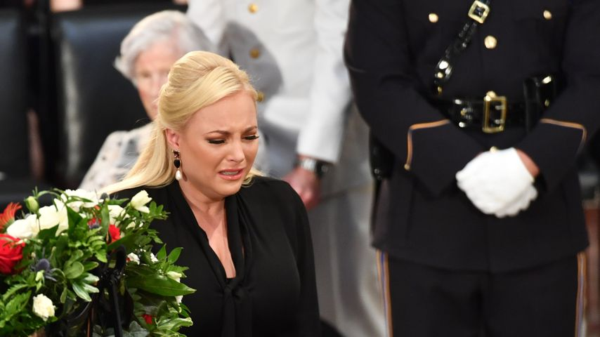 Meghan McCain bei der Beerdigung von John McCain