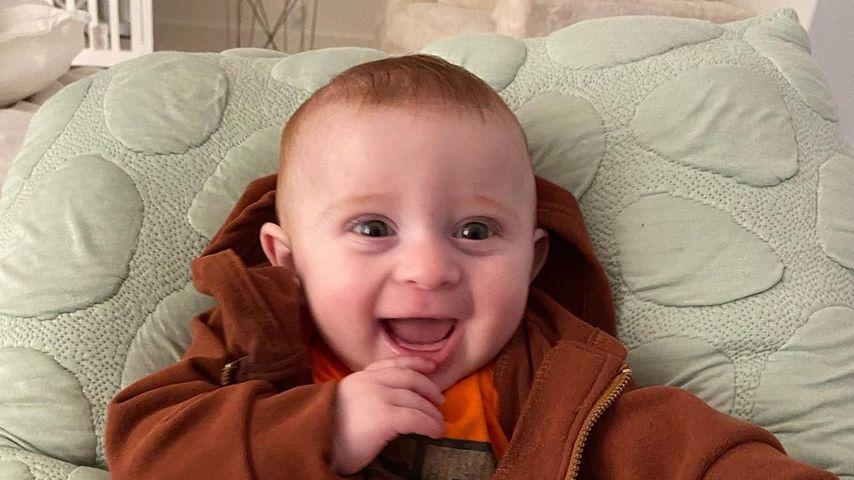 Meghan Trainors Sohn Riley, Juli 2021