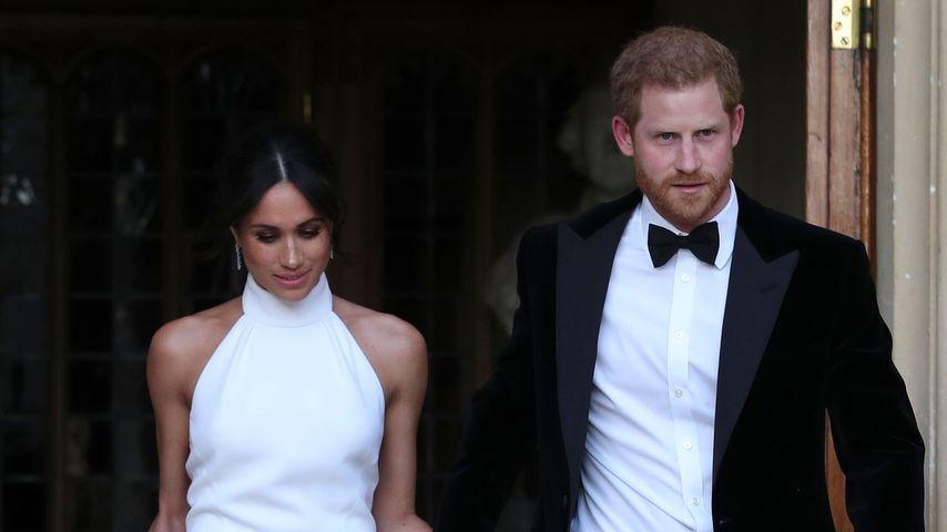 Herzogin Meghan und Prinz William im Schloss Windsor