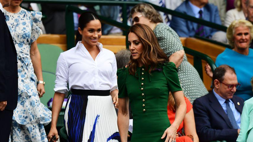 Warum verließen Meghan und Kate Wimbledon getrennt?
