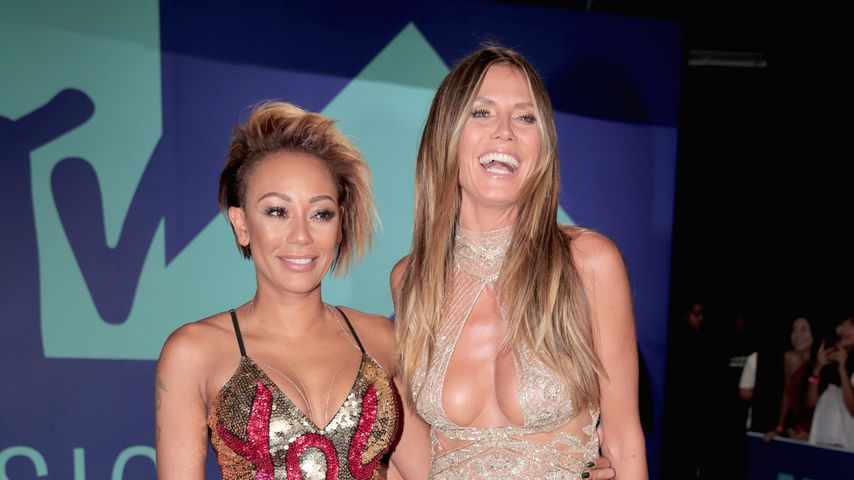 Mel B. und Heidi Klum bei den Video Music Awards 2017
