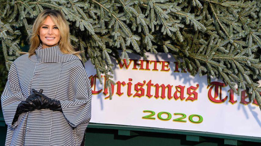 Umstyling: Melania Trump überrascht mit neuer Haarfarbe!
