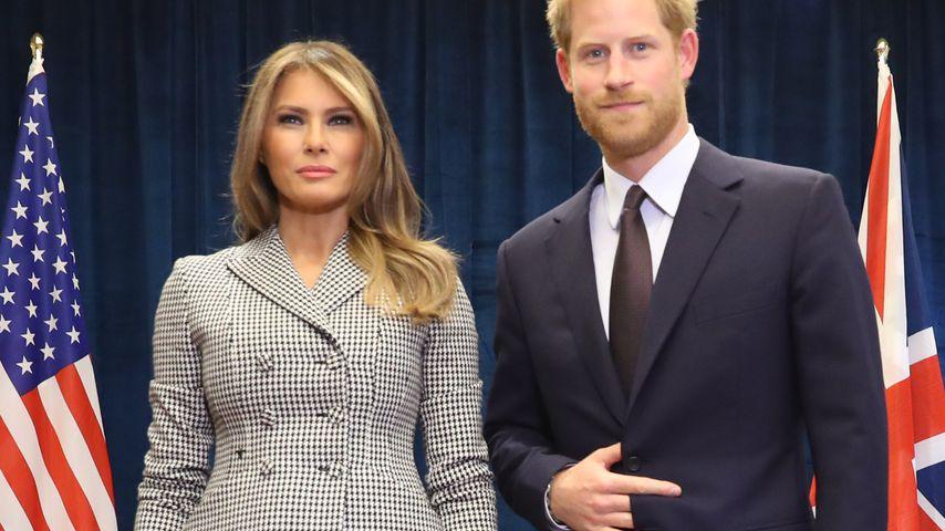 First Lady Melania Trump und Prinz Harry