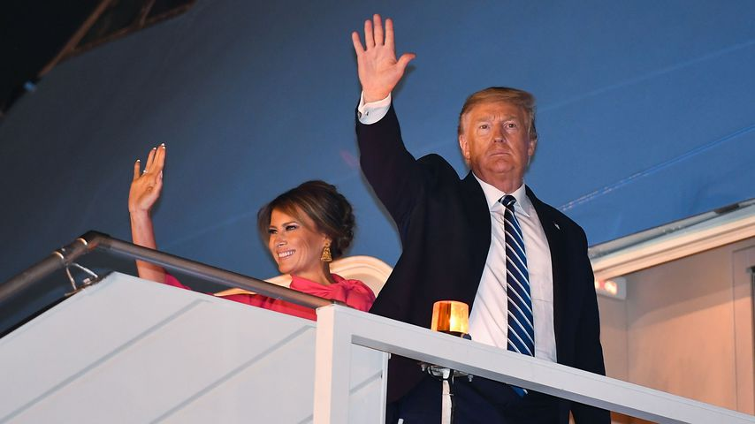 Melania Trump und Donald Trump im Februar 2020