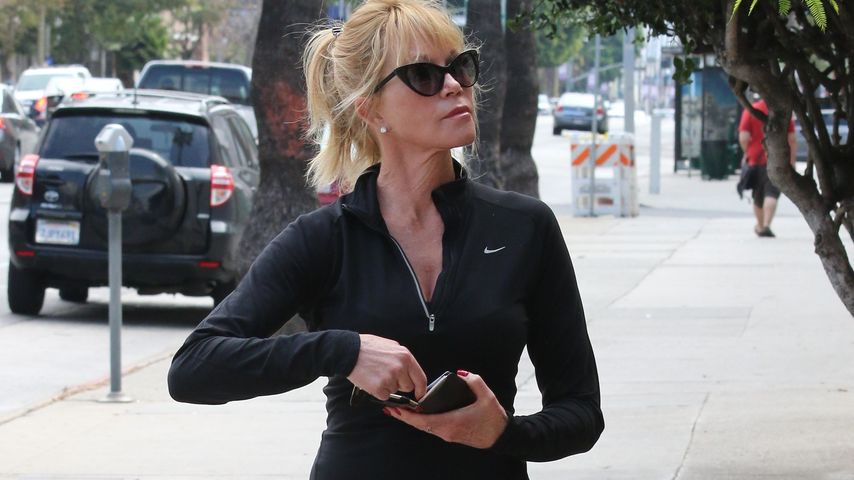 Melanie Griffith im Sport-Outfit