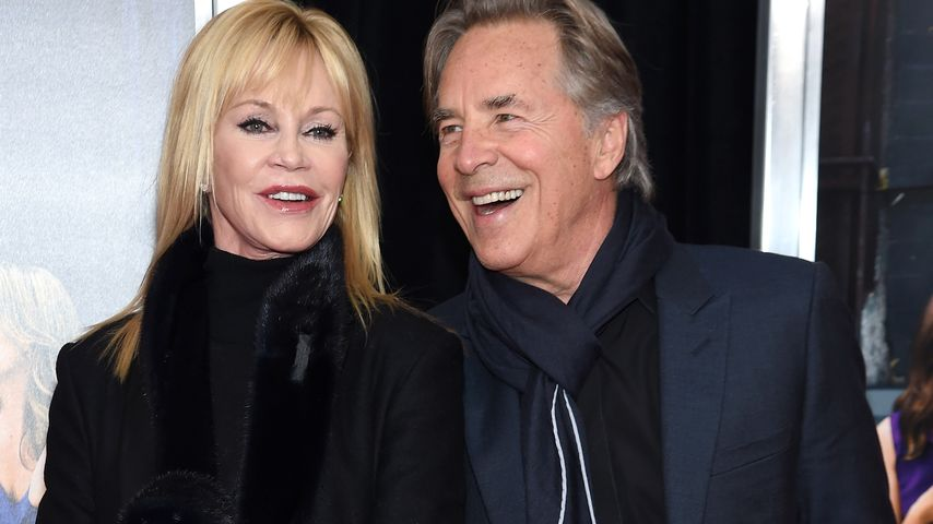 Melanie Griffith & Don Johnson in New York