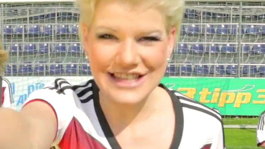 Seht hier den Clip! Melanie Müllers WM-Song ist da