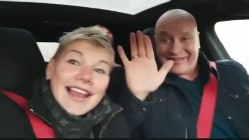 Melanie Müller und ihr Mann Mike Blümer