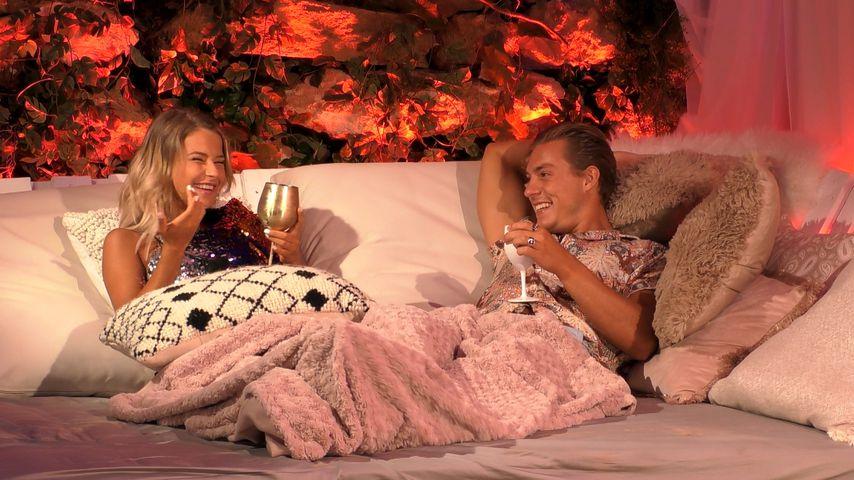 """Melanie und Henrik bei """"Love Island"""""""