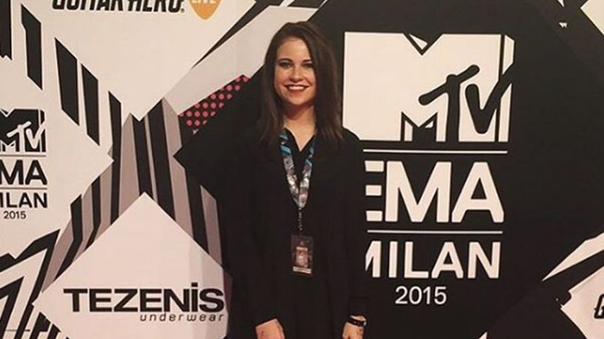 Melina Sophie bei den MTV EMAs 2015