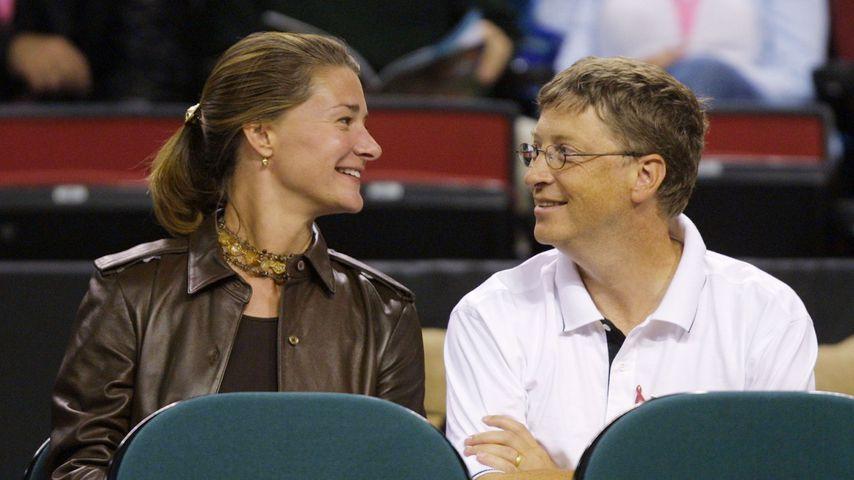 Melinda und Bill Gates 2001