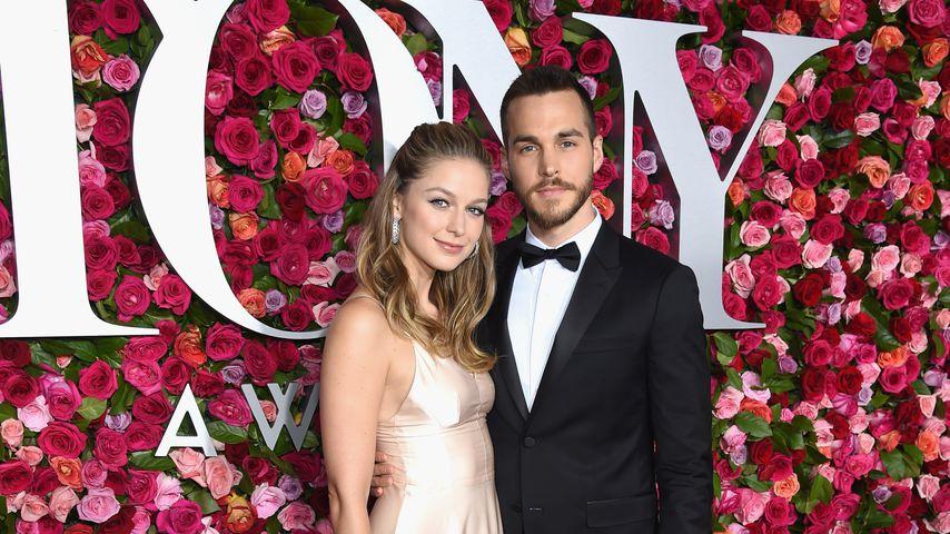 Melissa Benoist und Chris Wood bei den Tony Awards 2019