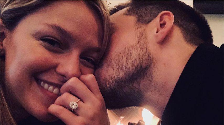 """Supergirl""-Stars Melissa Benoist & Chris Wood sind verlobt"