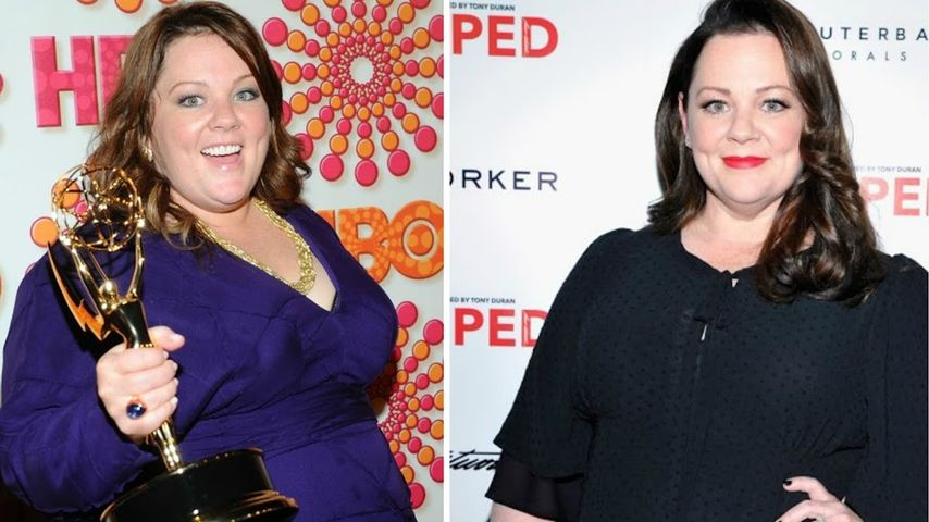 Minus 25 Kilo seit Juni: Melissa McCarthy total erschlankt!