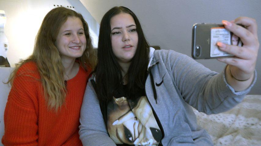 """Melissa und eine Freundin bei """"Hier & Jetzt"""""""