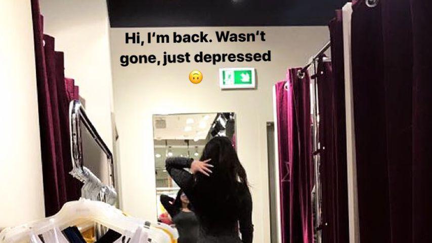Instagram-Story von Melody Haase