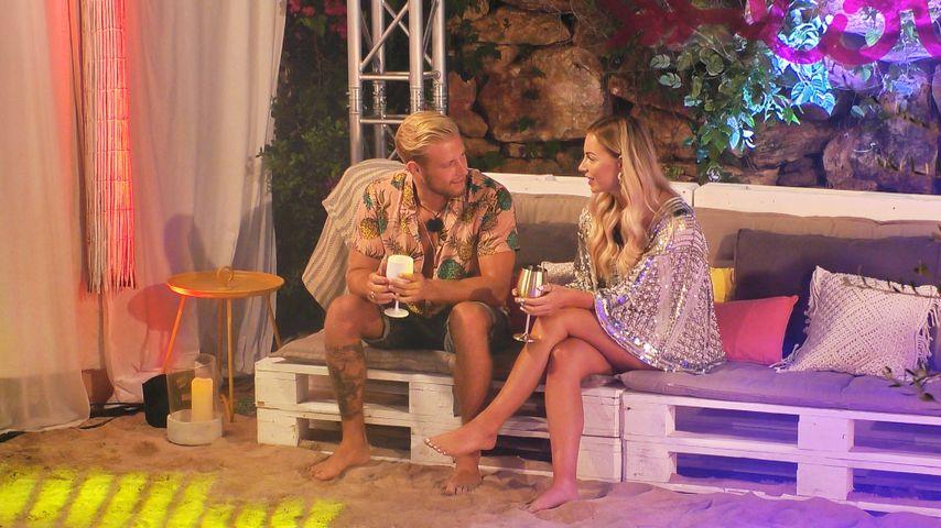 """Melvin Pelzer und Julia Schwab bei """"Love Island"""""""
