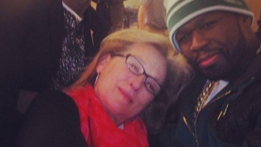 Diva & Gangsta: Meryl Streep und 50 Cent turteln