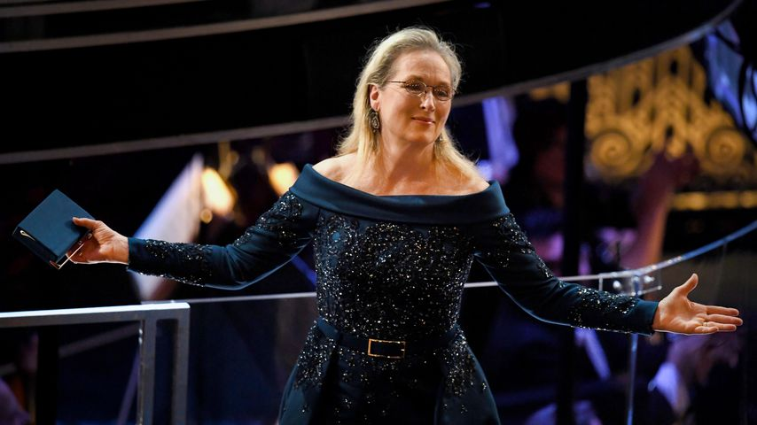 Nach Modebeef mit Lagerfeld: Meryl Streep pfeift auf Chanel!