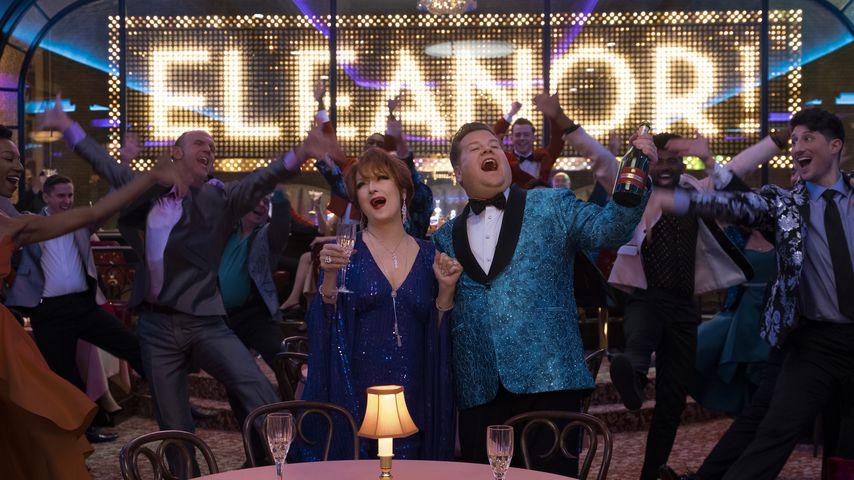 """Meryl Streep und James Corden in einer Szene aus """"The Prom"""""""