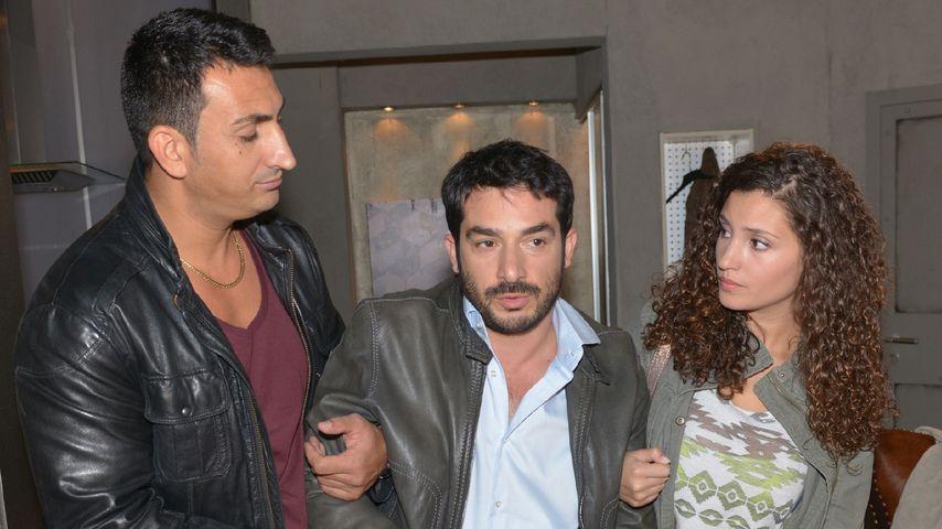 Nadine Menz, Tayfun Baydar und Mustafa Alin