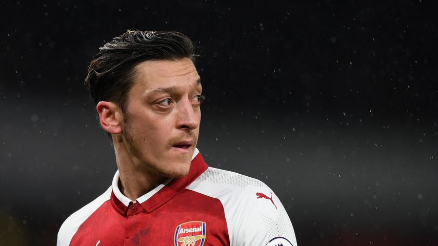 Mesut Özil beim Premier-League-Spiel Arsenal gegen Everton am 3. Februar 2018