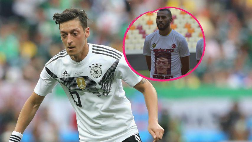 Hommage an Özil: Mannschaft trägt Foto von ihm auf Trikot