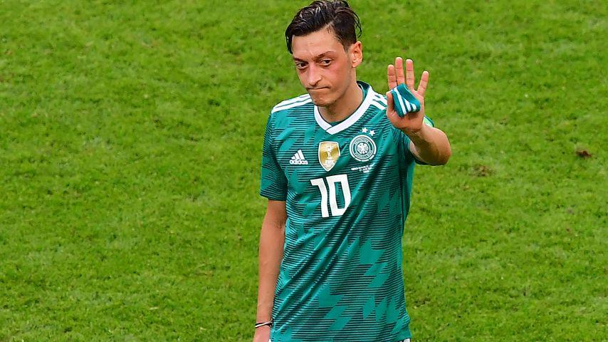 Mesut Özil nach der Vorrunden-Niederlage der WM 2018 in Kazan