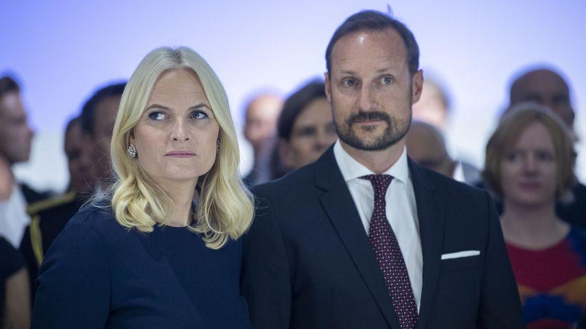 Prinzessin Mette-Marit und Prinz Haakon auf der Frankfurter Buchmesse
