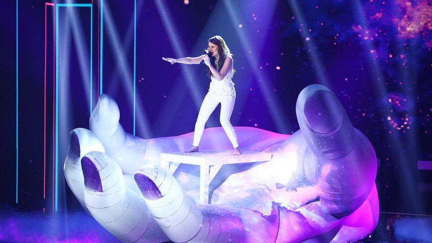 Mia Gucek bei ihrer DSDS-Performance
