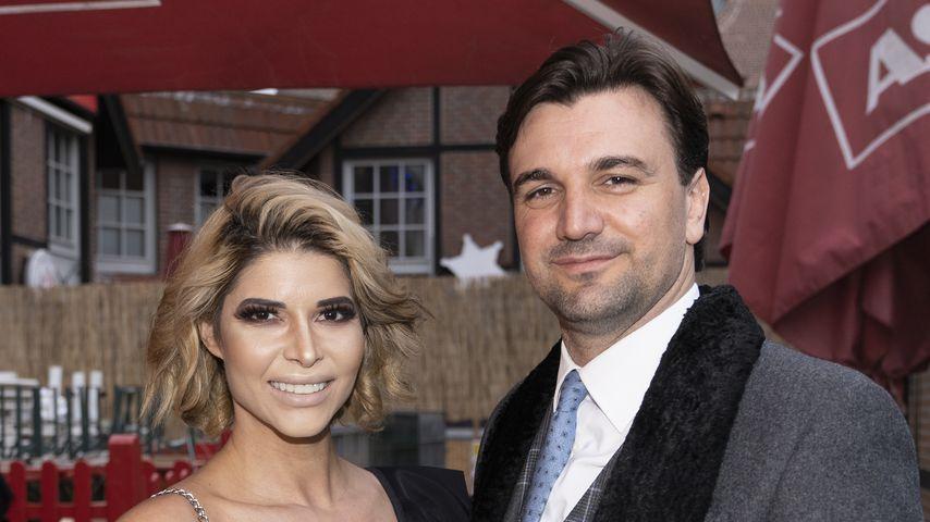 Micaela Schäfer und Felix Steiner bei einer Bar-Eröffnung von Olivia Jones