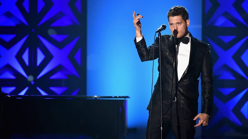 "Michael Bublé bei der ""46th Songwriters Hall of Fame"""
