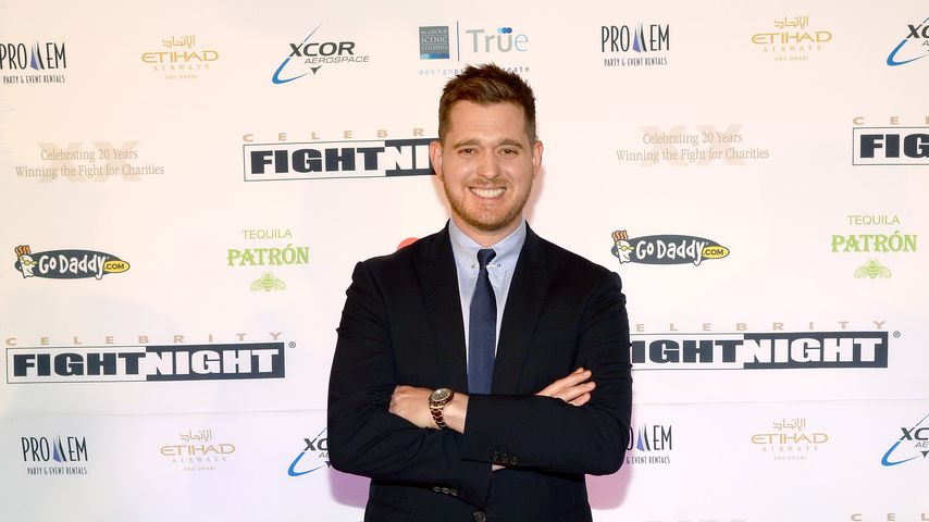 Michael Bublé bei Muhammad Ali's Celebrity Fight Night