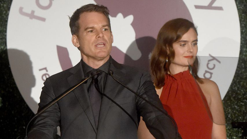 Michael C. Hall und Emily Deschanel, 2018