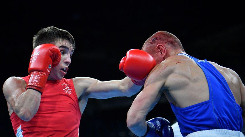 Michael Conlan und Wladimir Nikitin im Olympia-Box-Viertelfinale