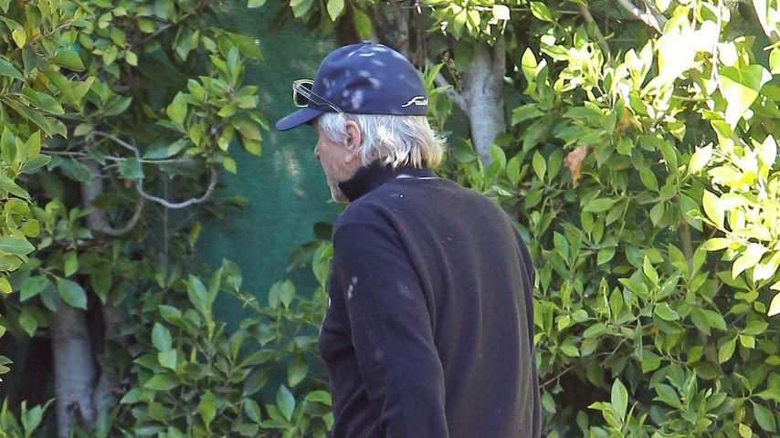 Michael Douglas einen Tag nach dem Tod seines Vaters Kirk