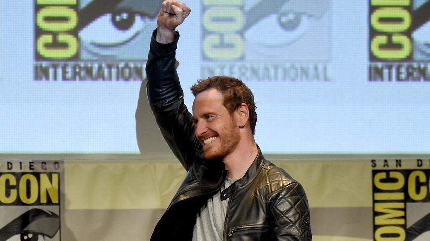 Michael Fassbender auf der ComicCon