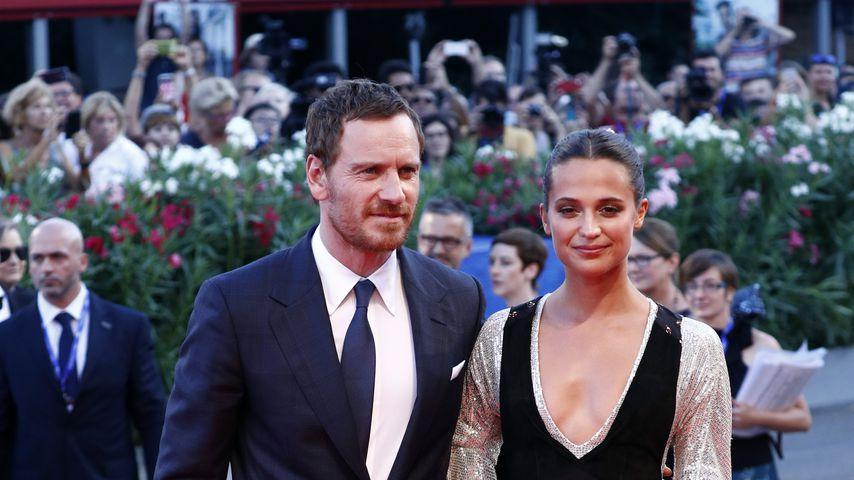 """Michael Fassbender und Alicia Vikander bei der Premiere von """"The Light Between Oceans"""""""