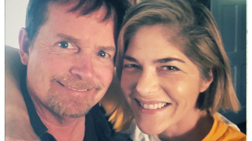 Michael J. Fox und Selma Blair