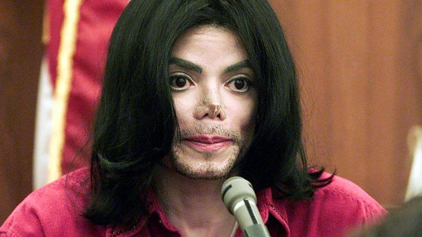 Michael Jackson im Gericht in Santa Maria