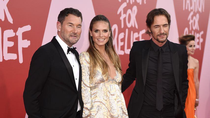 Michael Michalsky, Heidi Klum und Thomas Hayo beim Film-Festival in Cannes