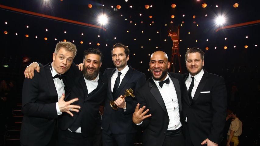 "Michael Mittermeier mit dem ""4 Blocks"" Team Kida Khodr Ramadan, Richard Kropf, Veysel Gelin und Marv"