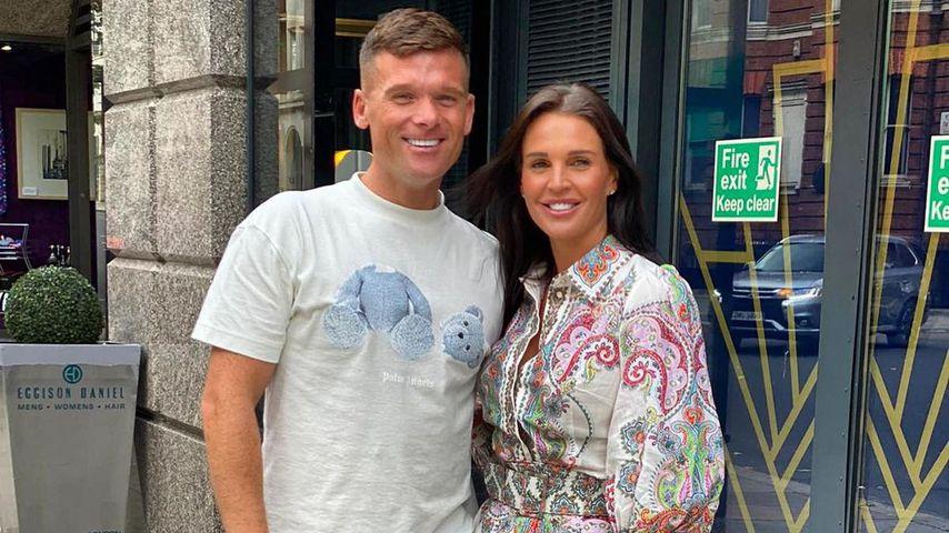Michael O'Neill und Danielle Lloyd im August 2020