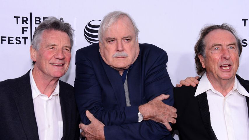 Michael Palin, John Cleese und Eric Idle, Comedy-Gruppe Monty Python