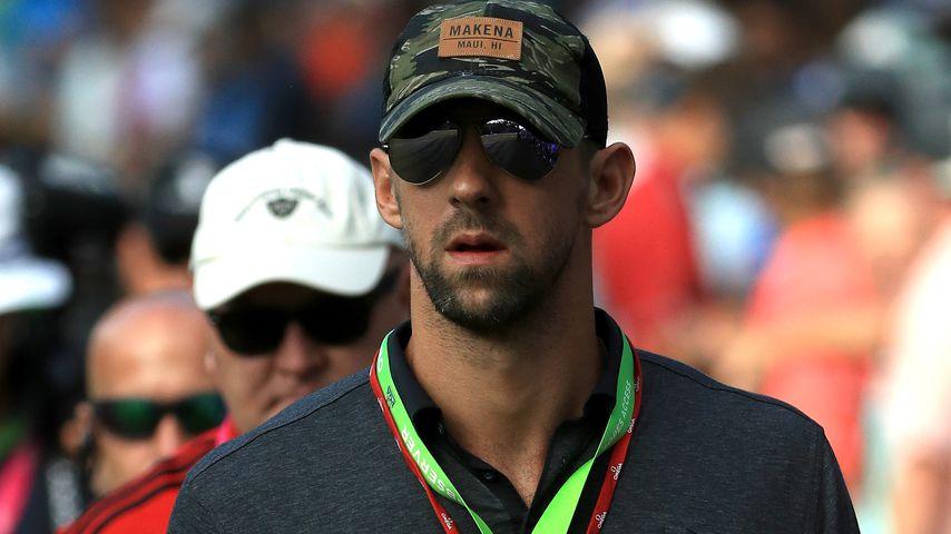 Michael Phelps beim PGA Championship 2017